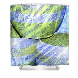 Handcrafted Shower Curtain by Susanne Van Hulst