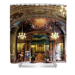 Handel's Organ Shower Curtain