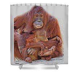 Hands And Feet Shower Curtain