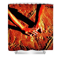 Hands In Love Shower Curtain