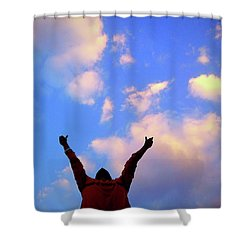 Hands In The Air Shower Curtain