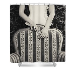 Shower Curtain featuring the photograph Hands #2203 by Andrey  Godyaykin