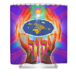 Hands Of Creation Shower Curtain