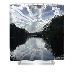 Handsome Cloud Shower Curtain