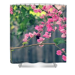 Shower Curtain featuring the photograph Hang On by Megan Dirsa-DuBois
