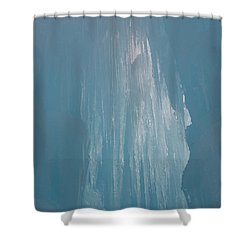Hanging Icicles Shower Curtain
