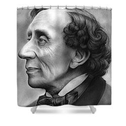 Hans Christian Andersen Shower Curtain