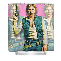 Hans Solo Shower Curtain