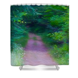 Hansel And Grettel Shower Curtain by Susan Crossman Buscho