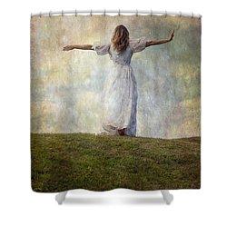 Happiness Shower Curtain by Joana Kruse