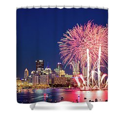 Happy 4th  Shower Curtain