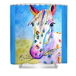 Happy Appy Shower Curtain