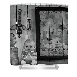 Happy Childhood Shower Curtain