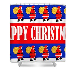 Happy Christmas 26 Shower Curtain by Patrick J Murphy