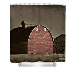 Happy Crib Shower Curtain