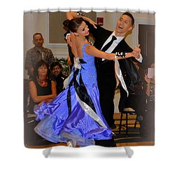 Happy Dancing Shower Curtain
