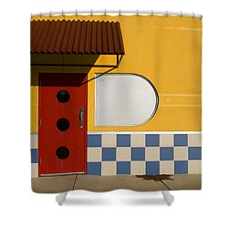 Happy Days Shower Curtain by Skip Hunt