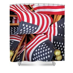 Happy Fourth Of July 2017 Shower Curtain