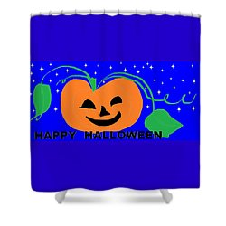 Happy Halloween 1 Shower Curtain