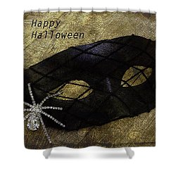 Shower Curtain featuring the photograph Happy Halloween by Patrice Zinck