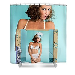 Shower Curtain featuring the photograph Beautiful Jewish Women by Lisa Piper