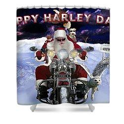 Happy Harley Days Shower Curtain