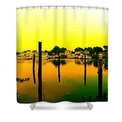 Happy Homes Shower Curtain