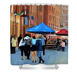 Happy Hour On Stone St. Nyc Shower Curtain