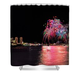 Happy Labor Day 213 Shower Curtain