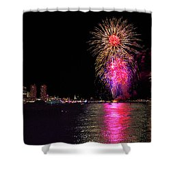 Happy Labor Day 214 Shower Curtain