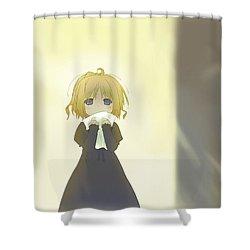 Happy Magarette  Shower Curtain