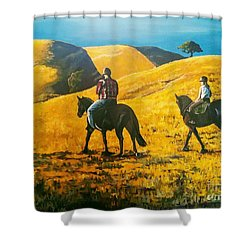 Happy Memories Shower Curtain
