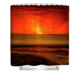 Happy New Year Shower Curtain by Pravine Chester