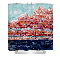 Happy Notes Shower Curtain