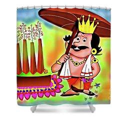 Happy Onam Shower Curtain