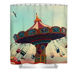 Happy Swing Shower Curtain