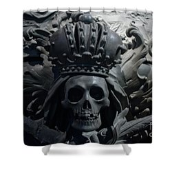 Hapsburg Tombs Vienna Austria Shower Curtain by Thomas Marchessault