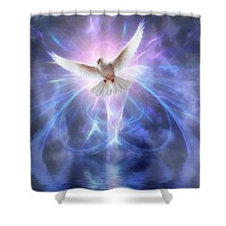 Harbinger II #fantasy #fantasyart Shower Curtain