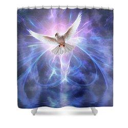 Harbinger II #fantasy #fantasyart Shower Curtain by John Edwards