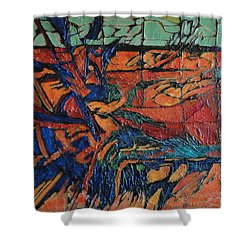 Harbingers Shower Curtain