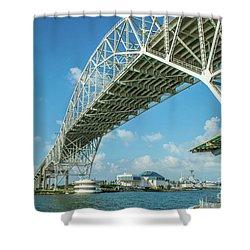 Harbor Bridge Shower Curtain