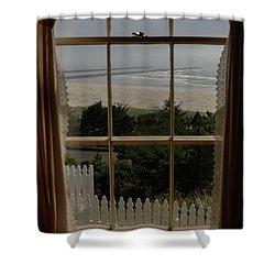 Harbor Entrance Shower Curtain