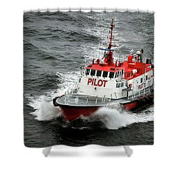 Harbor Master Pilot Shower Curtain