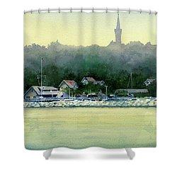 Harbor Master, Port Washington Shower Curtain