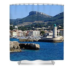 Harbor Of Cassis Shower Curtain