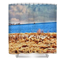 Harbor Of Tranquility Shower Curtain