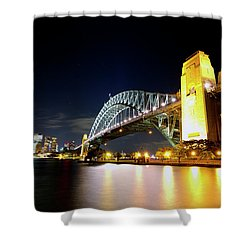 Harbour City Shower Curtain
