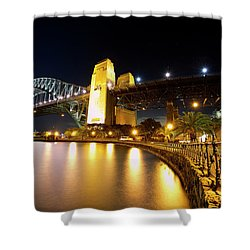 Harbour Fence Shower Curtain