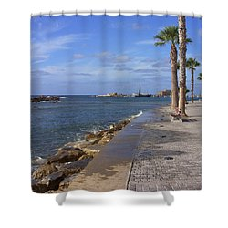 Harbour Walk Shower Curtain