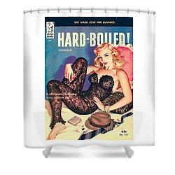 Hard-boiled Shower Curtain